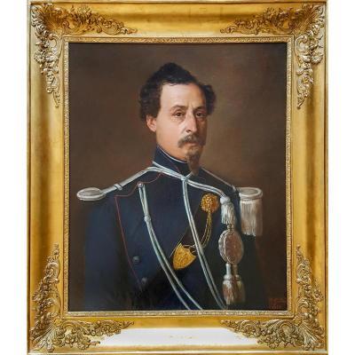 Portrait d'Officier, Vers 1855