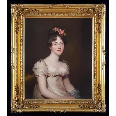 Portrait de Anne Wigram Vers 1818