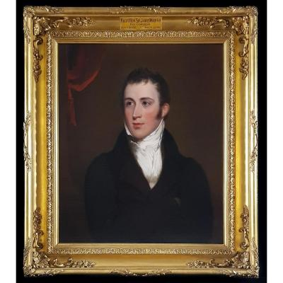 Portrait De Sir James Wigram, Vice-chancelier Vers 1818
