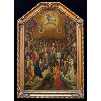 l'Adoration De l'Agneau 19ème Siècle