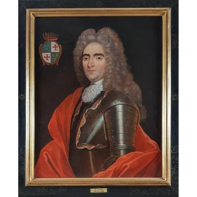 Portrait d'Un Gentilhomme Vers 1720