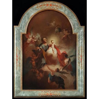 l'Apothéose De Saint-joseph 18ème Siècle