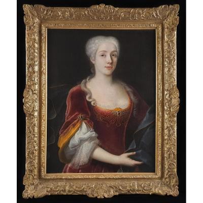 Portrait d'Une Dame Vers 1722