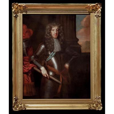 Portrait De James II Comme Duc d'York (1633-1701), 17ème Siècle