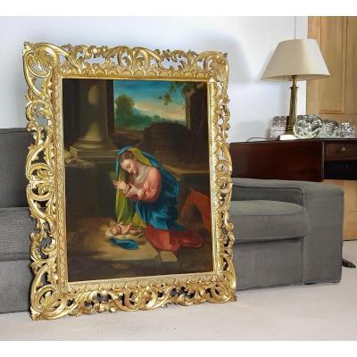 Adoration De l'Enfant, XIXe Siècle