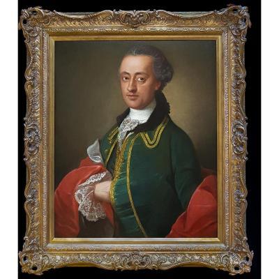 Portrait d'Un Gentilhomme Vers 1760