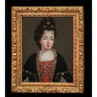Portrait De Louise Françoise, Duchesse De Bourbon Vers 1690