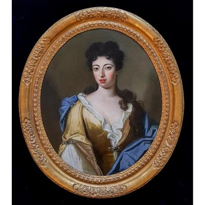 Portrait Of A Lady C.1690; Circle Of Godfrey Kneller (1646-1723)