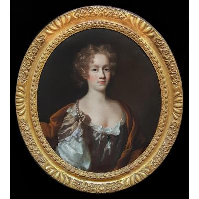 Portrait d'Elizabeth Goddard Vers 1670
