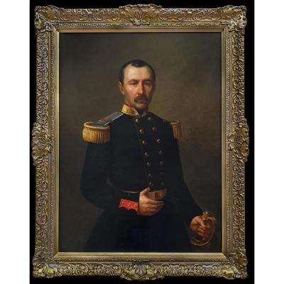 Portrait De Petrus Boreel De Mauregnault (1809-1875), Signé Et Daté 1867