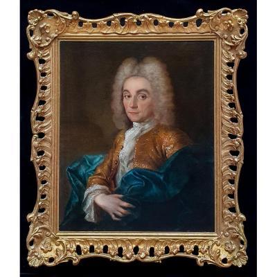 Portrait De Charles-françois, Duc De La Vallière (1670-1739) Vers 1720