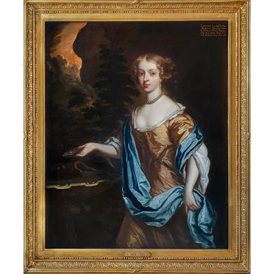 Portrait Of Catherine, Lady Perceval (1637-1679) C.1661; Studio Of Sir Peter Lely (1618 – 1680)