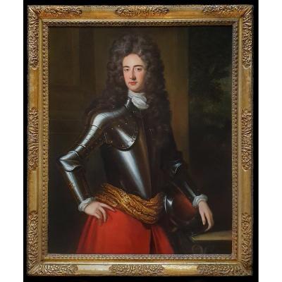 Portrait Of John Churchill, 1st Duke Of Marlborough C.1695; Charles d'Agar (1669–1723)