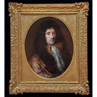 Portrait Of A Gentleman Circa 1680; Circle Of Nicholas De Largilierre (1656-1746)