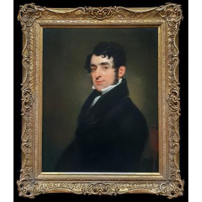 Portrait Of Edward Hodges C.1815