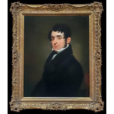 Portrait d'Edward Hodges Vers 1815