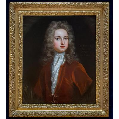 Portrait Of John Gore (c.1689-1763) C.1717; Circle Of Michael Dahl (1657-1743)