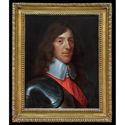 Portrait De Sir Thomas Wharton (c.1615-1684) 18e Siècle