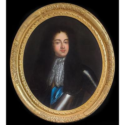 Portrait Au 18e Siècle De James Scott, Duc De Monmouth Et De Buccleuch (1649-1685)