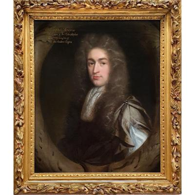Portrait Of Christopher Musgrave (1664-1718) Circa 1690; John Riley (1646-1691)