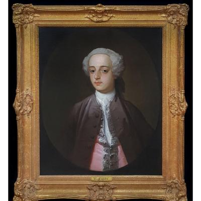 Portrait d'Henry Harrington Vers 1755