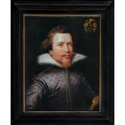 Portrait Of Jan Van Reynegom (1584-1640) Date 1612, Circle Jan Anthonisz. Van Ravesteyn
