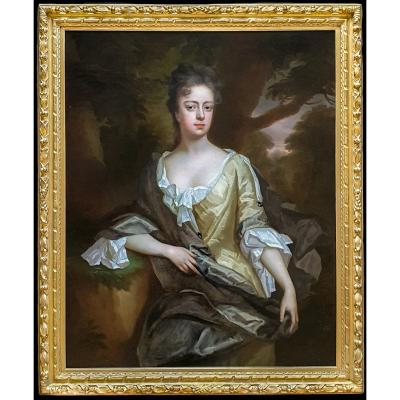 Portrait Of Lady Catherine Stanhope Clarke (1675-1728) C.1700; By Michael Dahl (1659-1743)