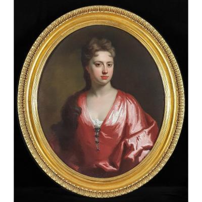 Vers 1702 Portrait d'Elizabeth Finch, Plus Tard Première Comtesse d'Aylesford (vers 1658-1743)