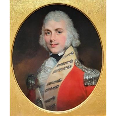Portrait d'Un Jeune Officier En Uniforme Vers 1805