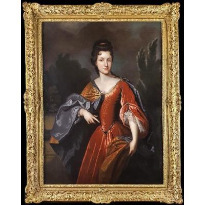 Portrait De Renée Bouthillier De Chavigny, Début XVIIIe Siècle