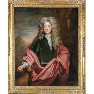 Vers 1705 Portrait De Thomas Smith Esquire, Excellente Qualité Et Histoire, Peinture à l'Huile