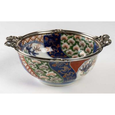 Bol Japonais En Porcelaine des Fours De Fukagawa