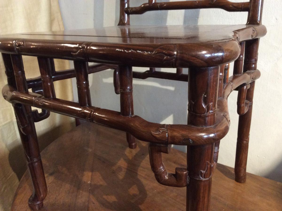 Bureau Cochinchine Style Bambou-photo-3