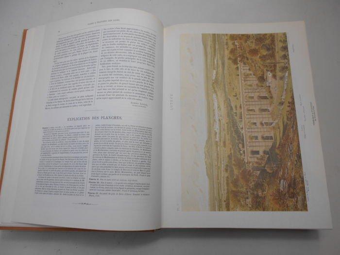 «Paris à Travers Les âges»  En Deux Volumes - Fedor Hoffbauer - 1978-photo-3