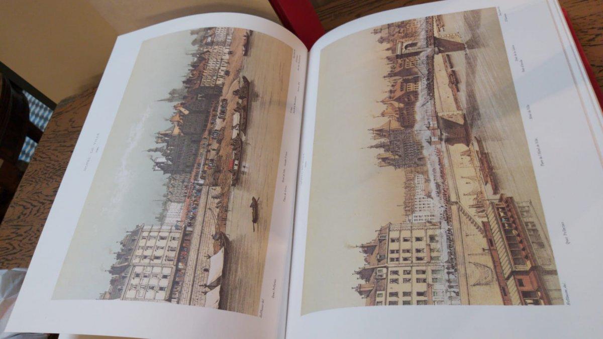 «Paris à Travers Les âges»  En Deux Volumes - Fedor Hoffbauer - 1978-photo-1