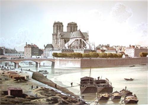 «Paris à Travers Les âges»  En Deux Volumes - Fedor Hoffbauer - 1978-photo-4