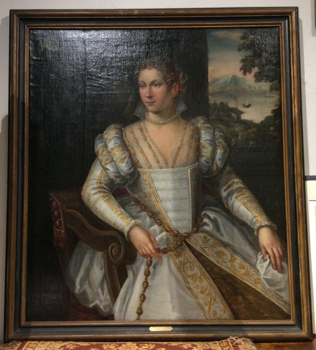 Portrait De Anne De Tramecourt