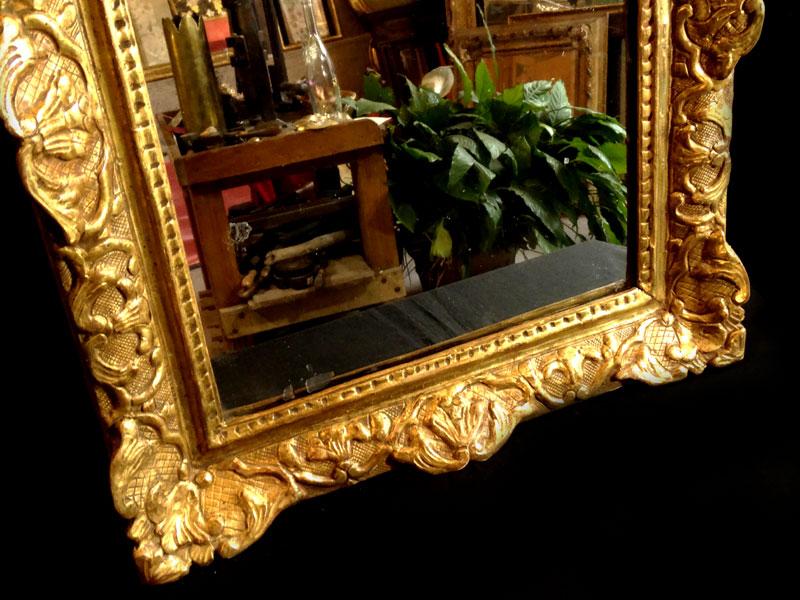 Miroir louis xiv miroirs for Miroir qui tombe tout seul