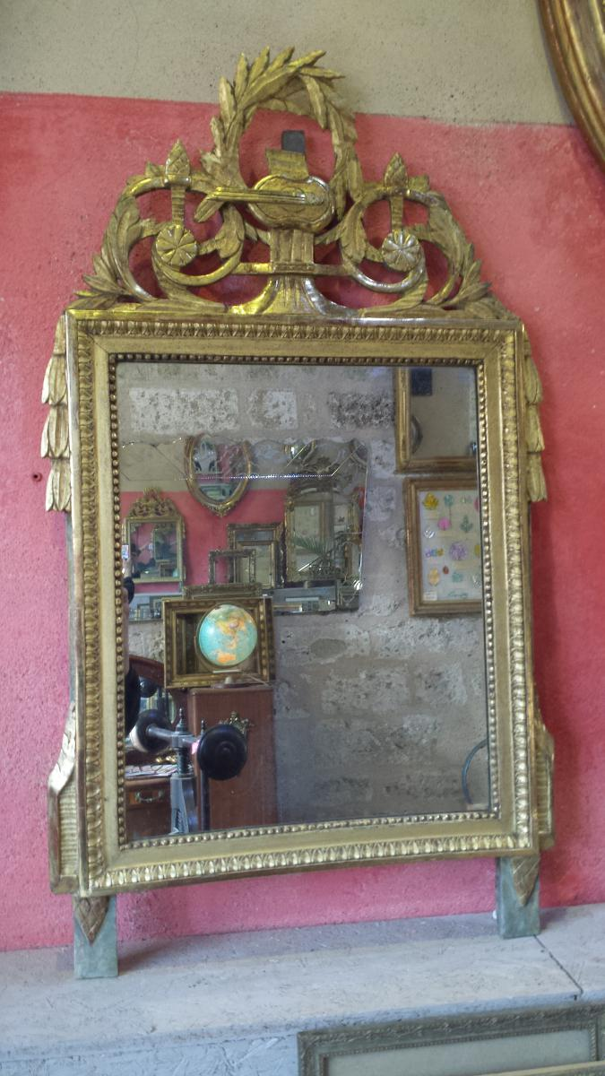 L gant miroir louis xvi miroirs for Miroir qui tombe tout seul