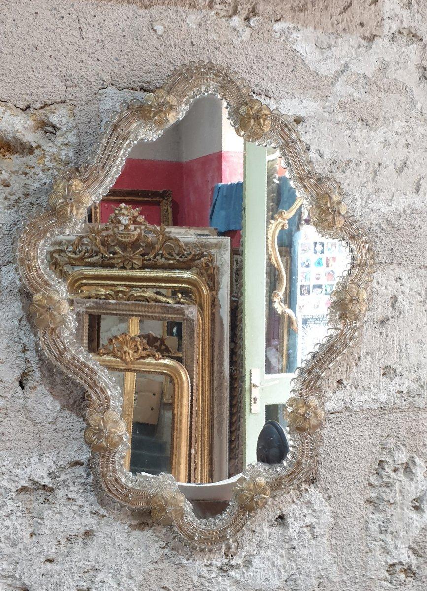 Miroir De Murano Parfait état