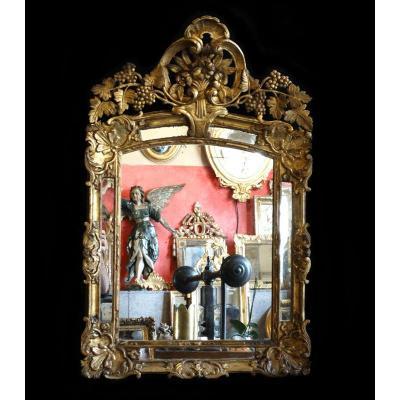 Miroir Régence A Pare closes