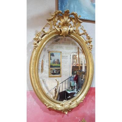 Miroir, Médaillon NIII Dans Son Jus