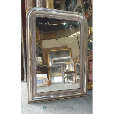 Miroir Louis Philippe A La Feuille d'Argent