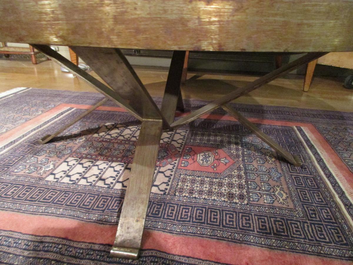 Living Room Table Vintage Vallauris-photo-3