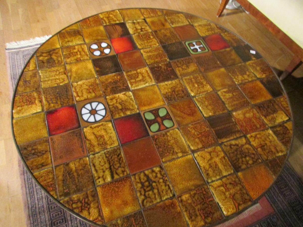 Living Room Table Vintage Vallauris-photo-1