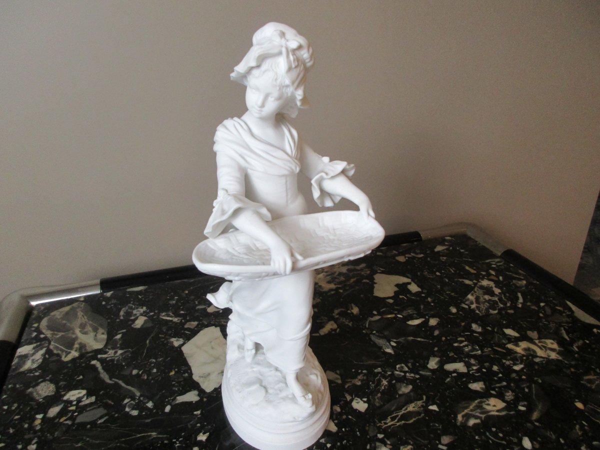 Biscuit Porcelain Sculpture
