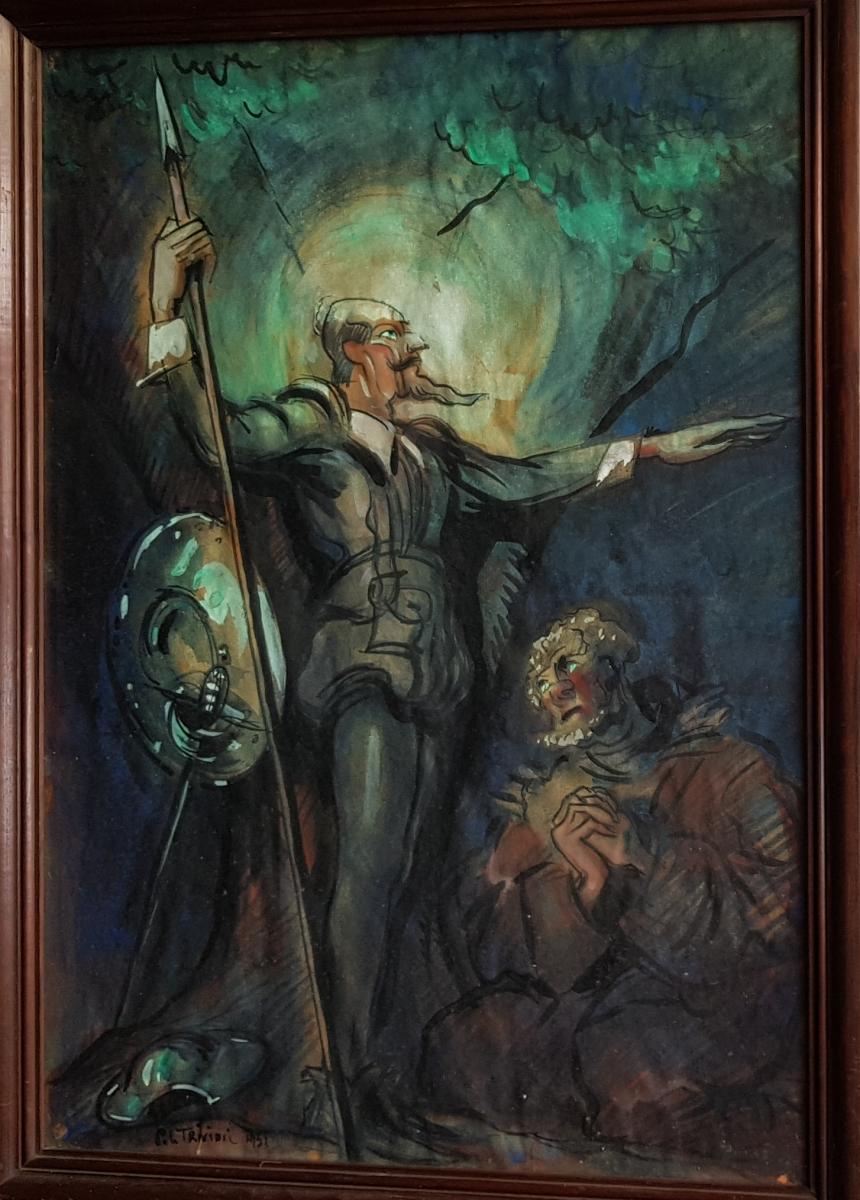 Pierre Le Trividic (1898-1960), Don Quichotte