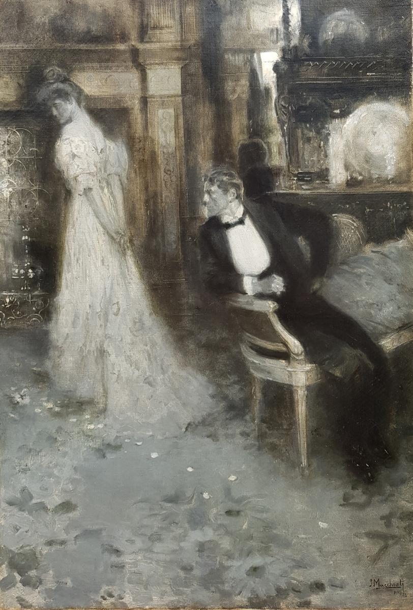 Serafino Macchiati (1861-1916), The Break-up