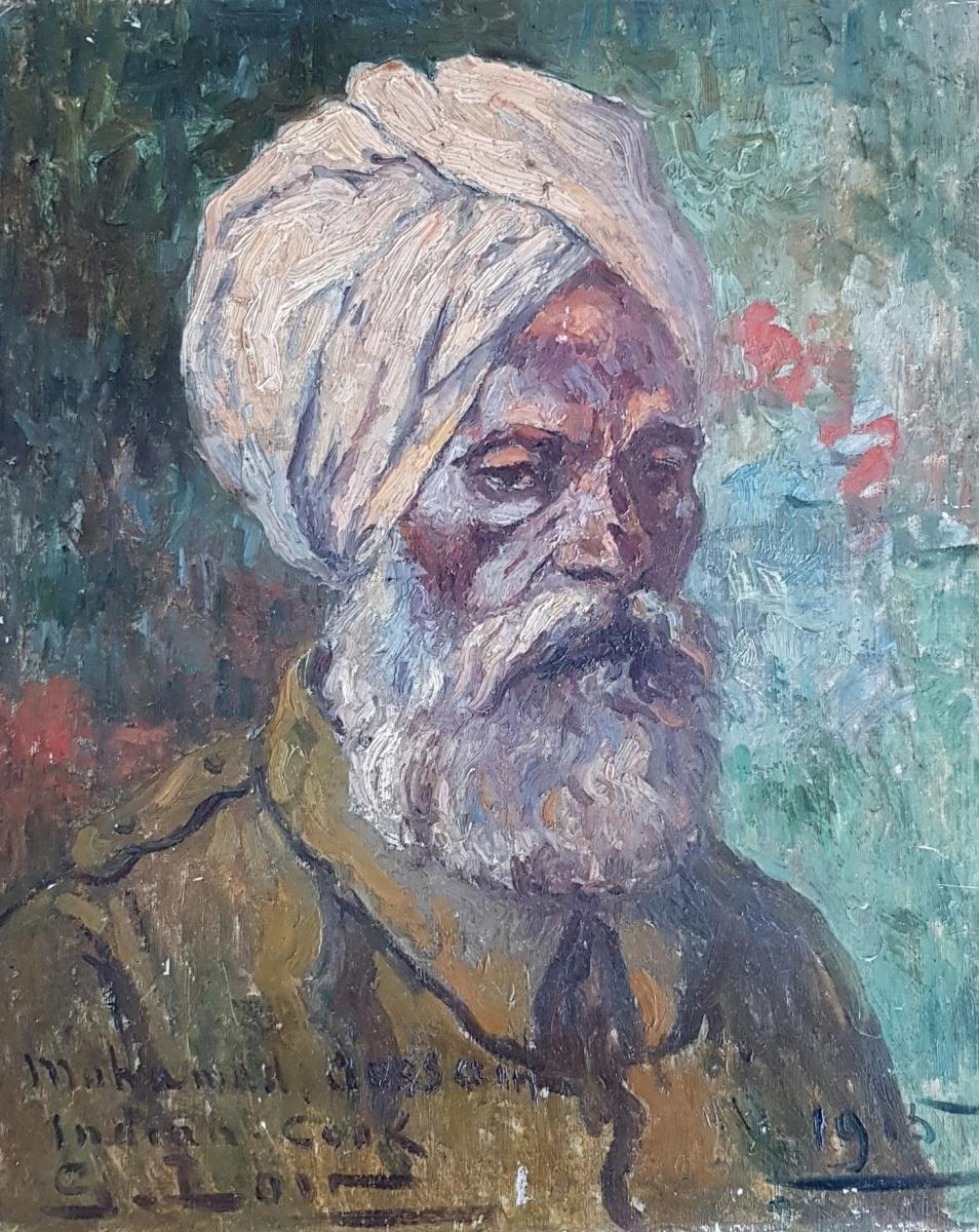 Gaston Loir (1868-1922), Cuisinier Indien, Ecole De Rouen