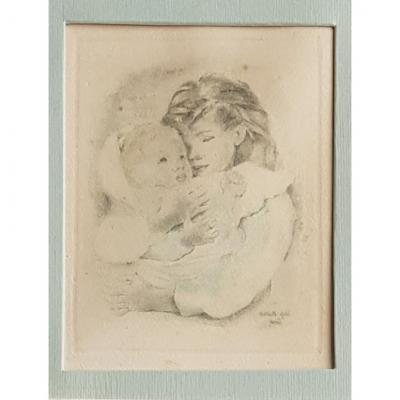Mariette LYDIS (1887-1970), Mère et fille